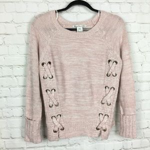 American Rag| knit light pink sweater